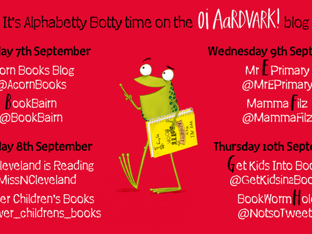 Blog Tour (Review): Oi Aardvark! by Kes Gray & Jim Field