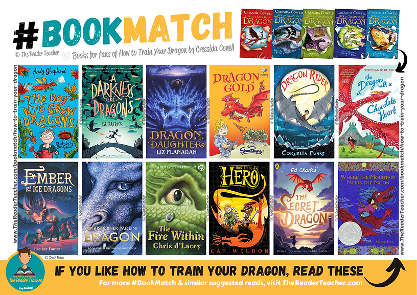 BookMatch How to Train Your Dragon Cress