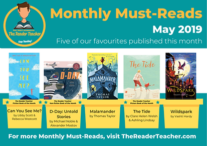 The Reader Teacher May 2019 Monthly Must