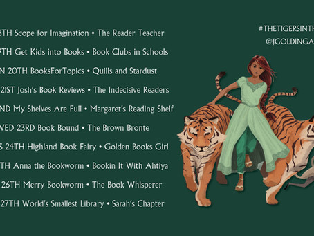 Blog Tour (Review): The Tigers in the Tower by Julia Golding (Illustrated by Keith Robinson)