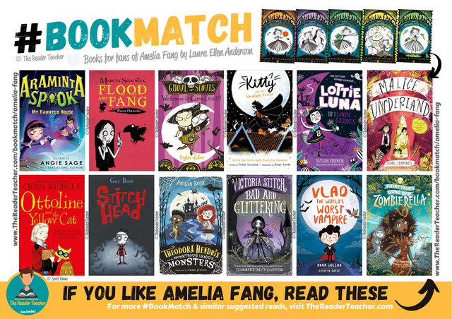Similar suggestions to Amelia Fang by Laura Ellen Anderson