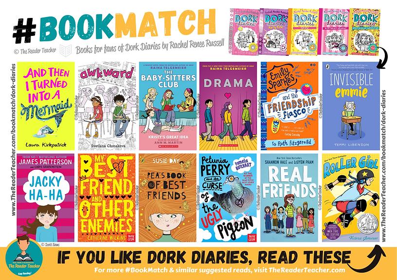 BookMatch Dork Diaries Rachel Renee Russ