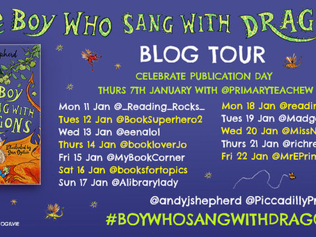 Blog Tour (Review): The Boy Who Sang With Dragons by Andy Shepherd & Sara Ogilvie