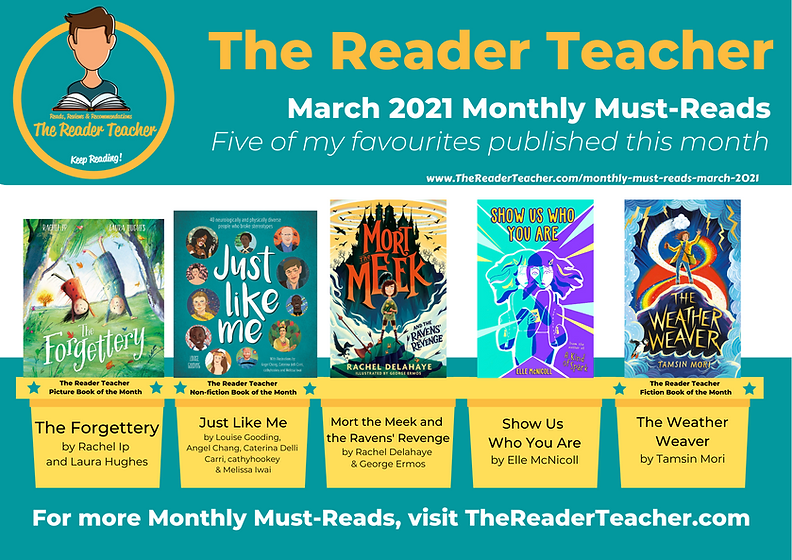 The Reader Teacher Monthly-Must Reads Ma