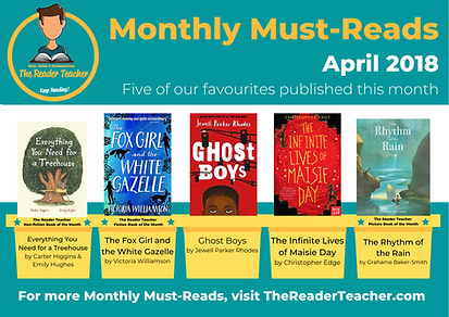 The Reader Teacher April 2018 Monthly Mu