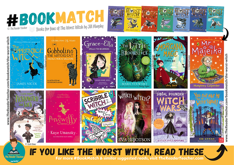 BookMatch The Worst Witch Jill Murphy.pn