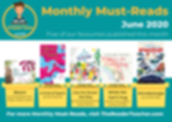 The Reader Teacher June 2020 Monthly Mus