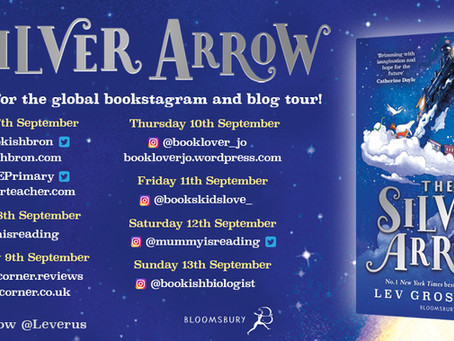 Blog Tour (Extract & Illustration from Tracy Bishop): The Silver Arrow by Lev Grossman