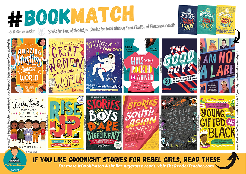 BookMatch Goodnight Stories for Rebel Gi