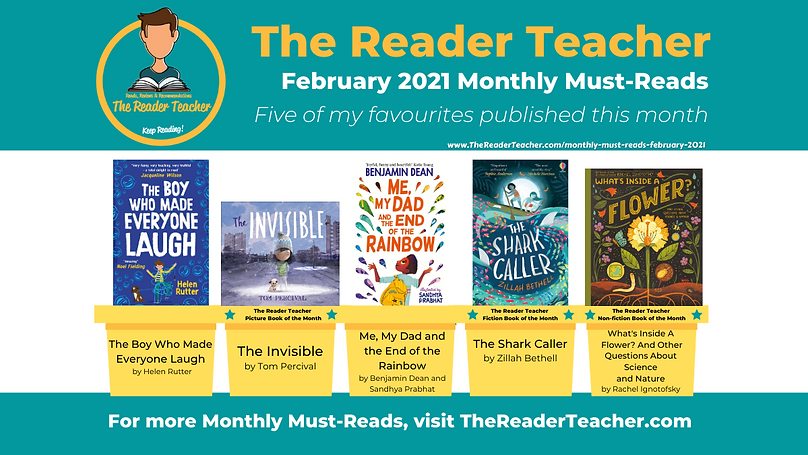 The Reader Teacher Monthly-Must Reads Fe