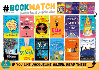 Similar suggestions to Jacqueline Wilson
