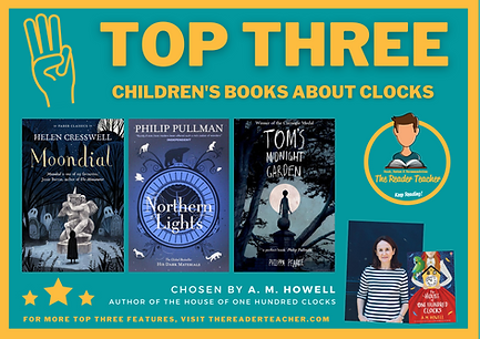Top Three Children's Book About Clocks b