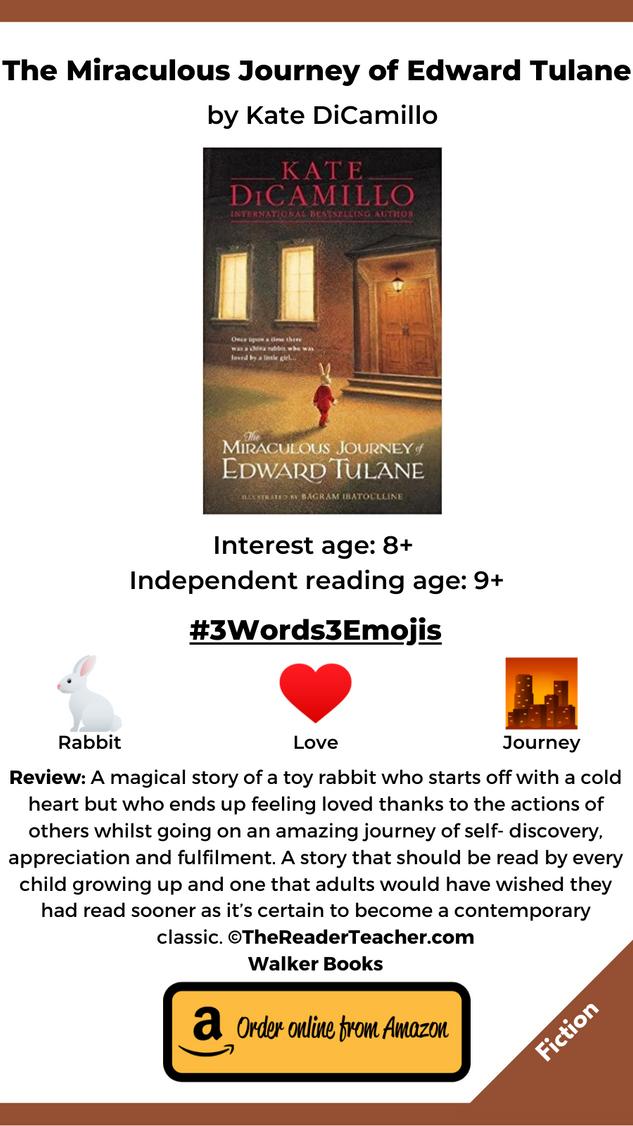 The Miraculous Journey of Edward Tulane.