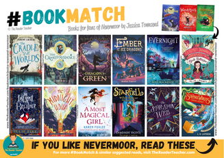 Similar suggestions to Nevermoor by Jessica Townsend