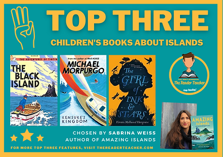 Top Three Children's Book About Islands