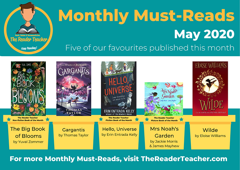 The Reader Teacher May 2020 Monthly Must