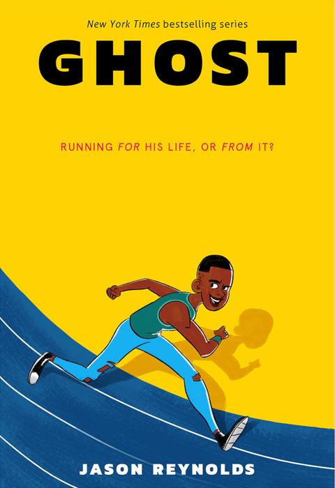 Ghost by Jason Reynolds and Selom Sunu