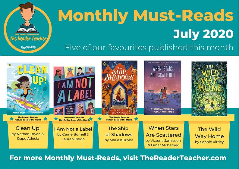 The Reader Teacher July 2020 Monthly Mus