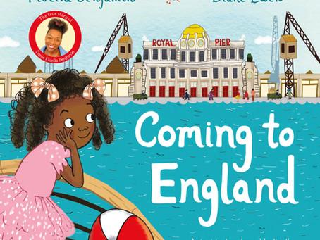 Illustrator Q&A (Diane Ewen): Coming to England by Floella Benjamin and Diane Ewen