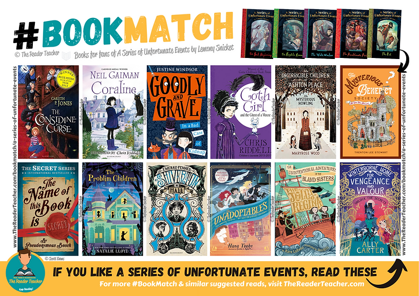 BookMatch A Series of Unfortunate Events
