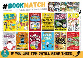Similar suggestions to Tom Gates by Liz Pichon
