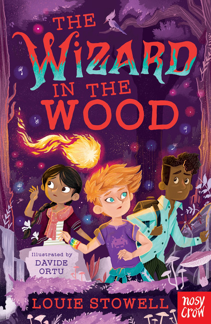 The Wizard in the Wood (The Dragon In The Library) by Louie Stowell and Davide Ortu