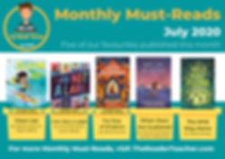 The Reader Teacher July 2020 Monthly Mus