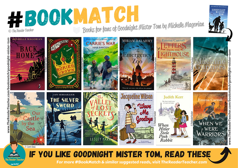 BookMatch Goodnight Mister Tom Michelle