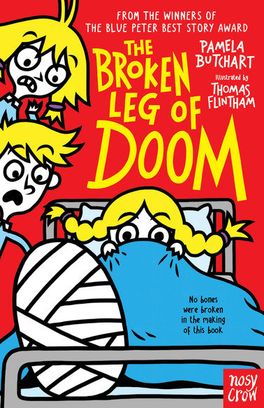 The Broken Leg of Doom! (Baby Aliens) by Pamela Butchart and Thomas Flintham