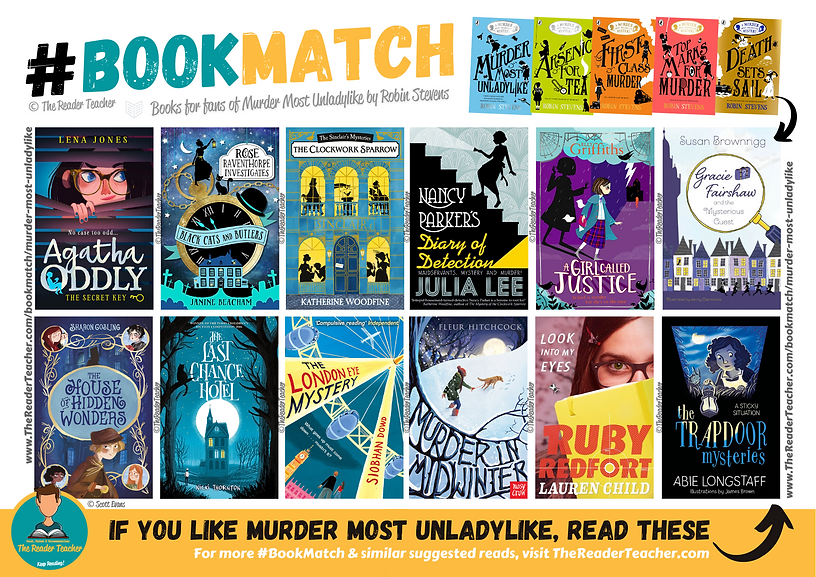 BookMatch Murder Most Unladylike Robin S