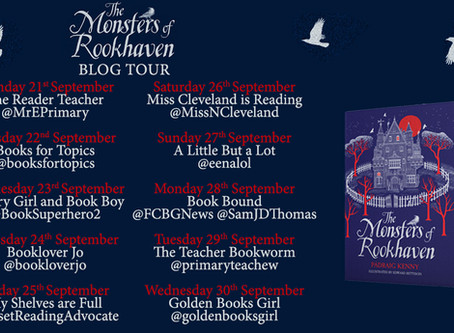 Blog Tour (Review): The Monsters of Rookhaven by Pádraig Kenny (Illustrated by Edward Bettison)