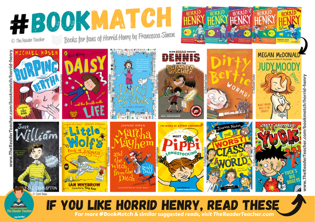 Similar suggestions to Horrid Henry by Francesca Simon