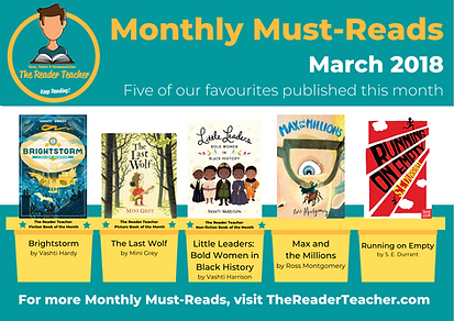 The Reader Teacher March 2018 Monthly Mu