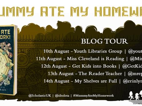 Blog Tour (Review & Guest Post): A Mummy Ate My Homework by Thiago de Moraes