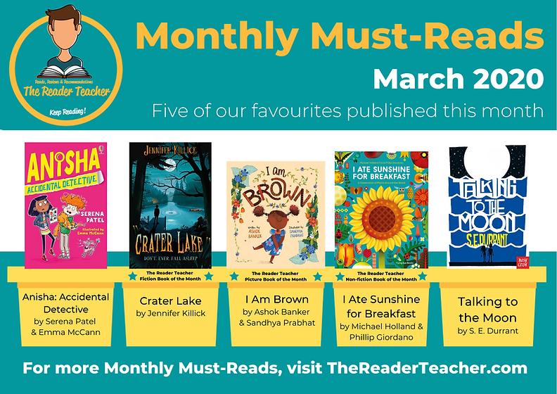 The Reader Teacher March 2020 Monthly Mu