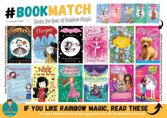 Similar suggestions to Rainbow Magic by Daisy Meadows