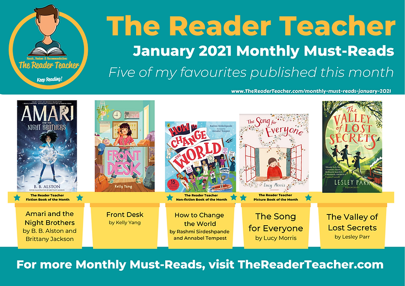 The Reader Teacher Monthly-Must Reads Ja