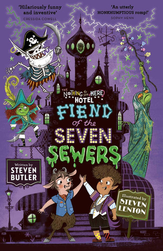 Fiend of the Seven Sewers (Volume 4) (The Nothing to See Here Hotel)