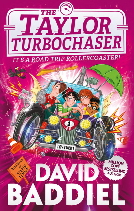The Taylor TurboChaser by David Baddiel and Steven Lenton