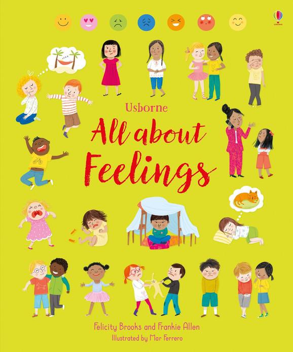 All About Feelings by Felicity Brooks, Frankie Allen & Mar Ferrero