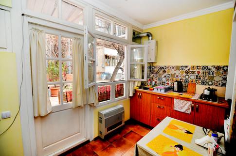 Sunny kitchen diner