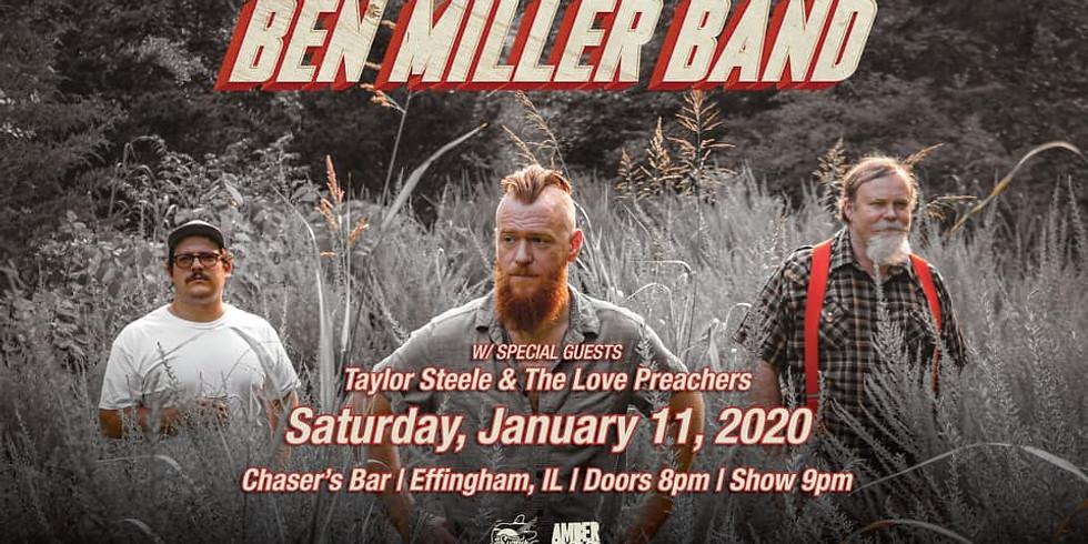 Opening for Ben Miller Band