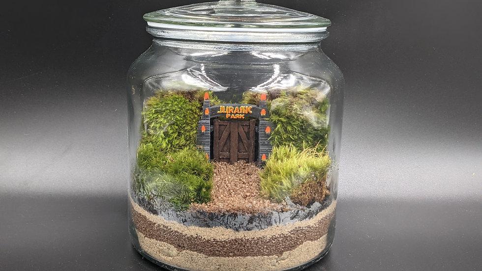 Jurassic Park Moss Terrarium