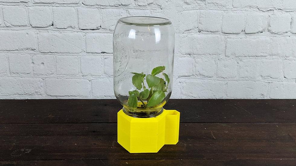 Small 3D Printer Mason Jar Living Terrarium
