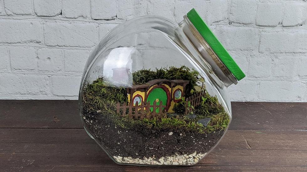 Bag End Moss Terrarium
