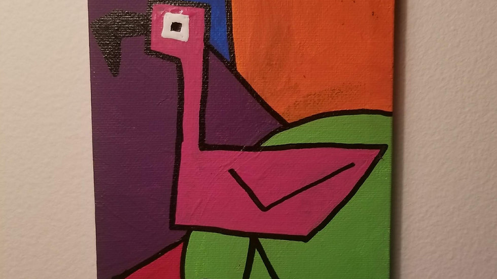 Modern Flamingo