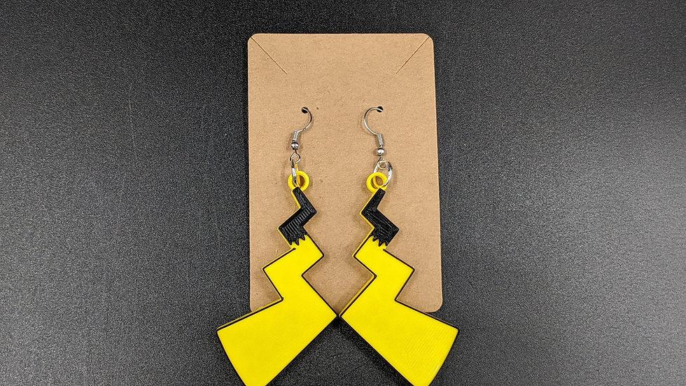 Pikachu Tail Earrings