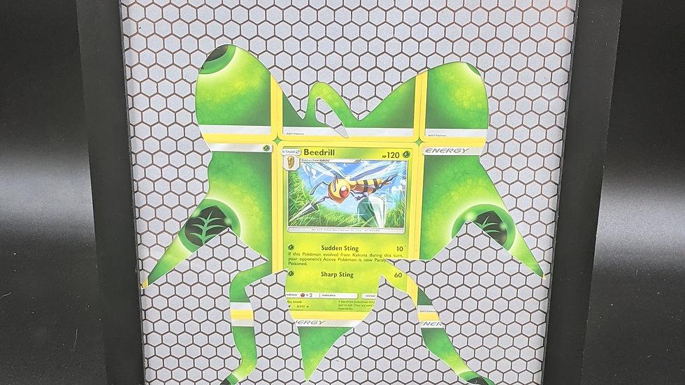 Beedrill Silhouette Pokemon Card Art