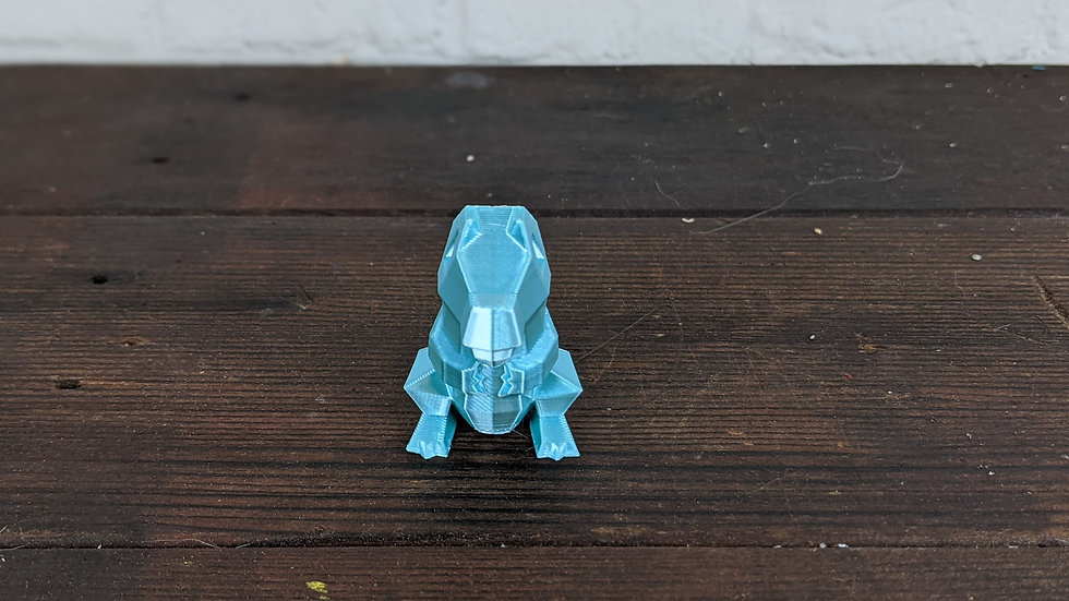 LowPoly Totodile
