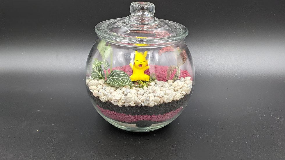 Pikachu Pokeball Terrarium